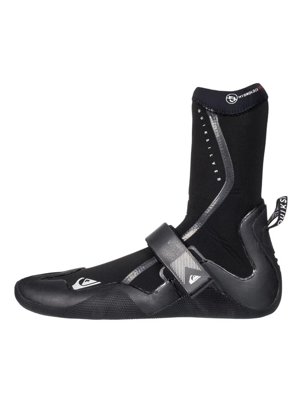 0 3mm Highline Plus Split Toe Surf Boots Black EQYWW03029 Quiksilver