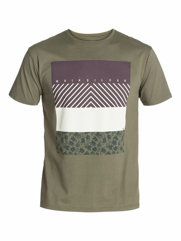 0 Ss Bright Tee C8  EQYZT03028 Quiksilver