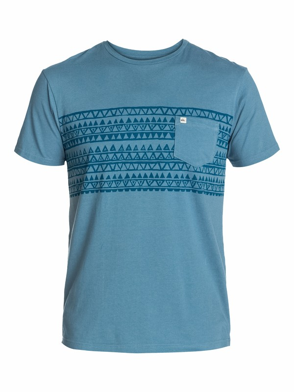 0 Ss Pocket Tee M1  EQYZT03068 Quiksilver