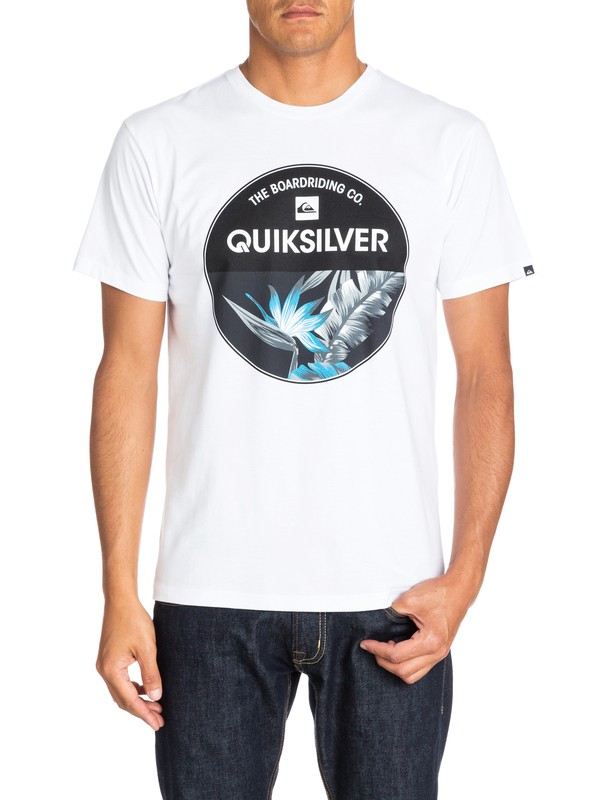 0 Classic Tee Rise Above  EQYZT03137 Quiksilver