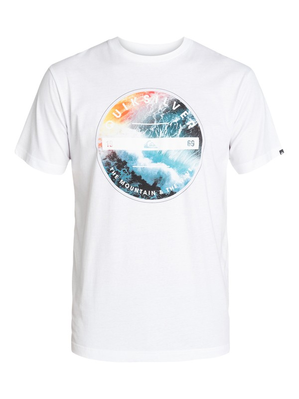 0 Classic Tee Being There  EQYZT03138 Quiksilver