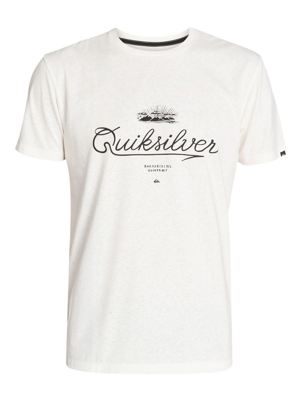 0 Recycled Tee De Scripted  EQYZT03155 Quiksilver