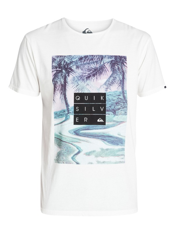 0 Garment Dyed Tee Hunter  EQYZT03162 Quiksilver