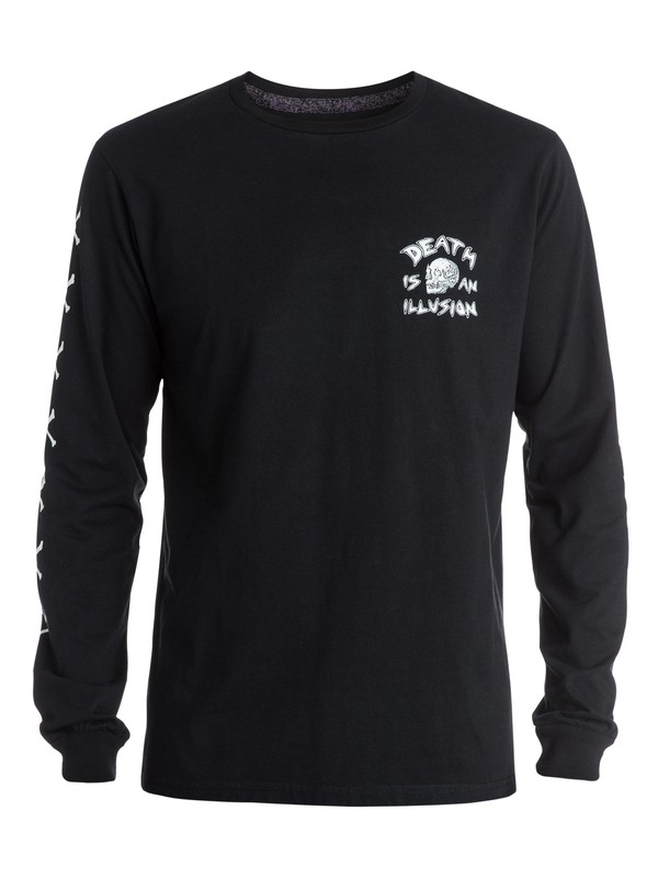 0 Illusion Long Sleeve Tee  EQYZT03375 Quiksilver