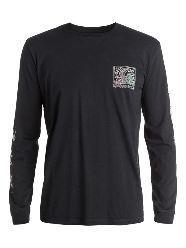 0 Surf Trip Long Sleeve Tee  EQYZT03378 Quiksilver