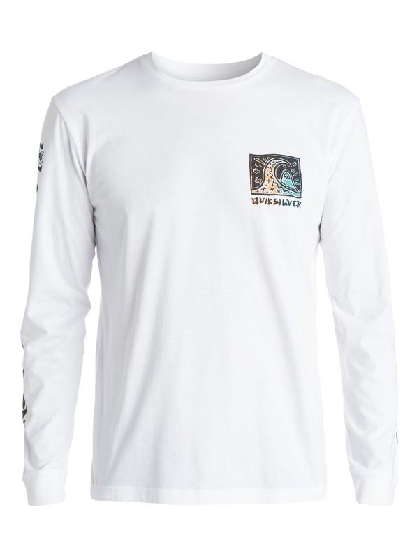 0 Surf Trip - T-shirt manches longues  EQYZT03378 Quiksilver