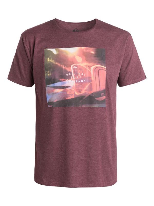 0 Heather Arvo Glass Off - T-shirt  EQYZT03389 Quiksilver