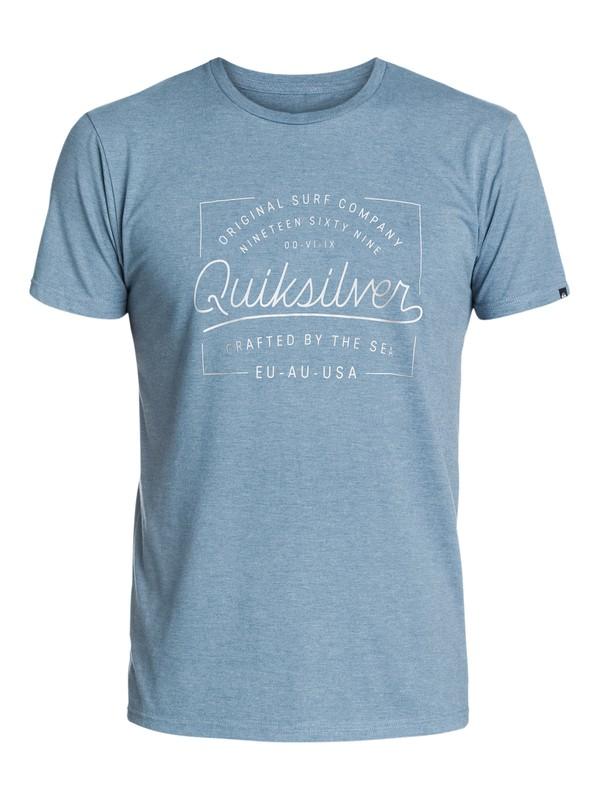 0 Slub Crafted - T-shirt  EQYZT03395 Quiksilver