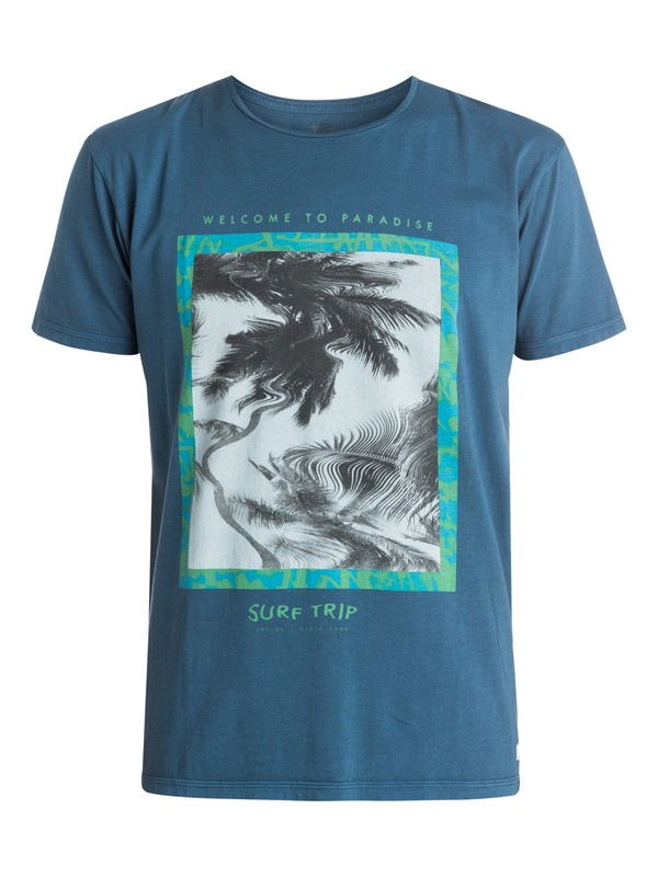 0 Garment Dyed Welcome Tee  EQYZT03399 Quiksilver
