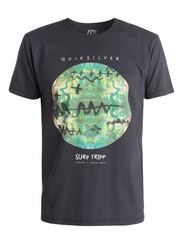 0 Camiseta Garment Dyed Surf Tripping  EQYZT03401 Quiksilver