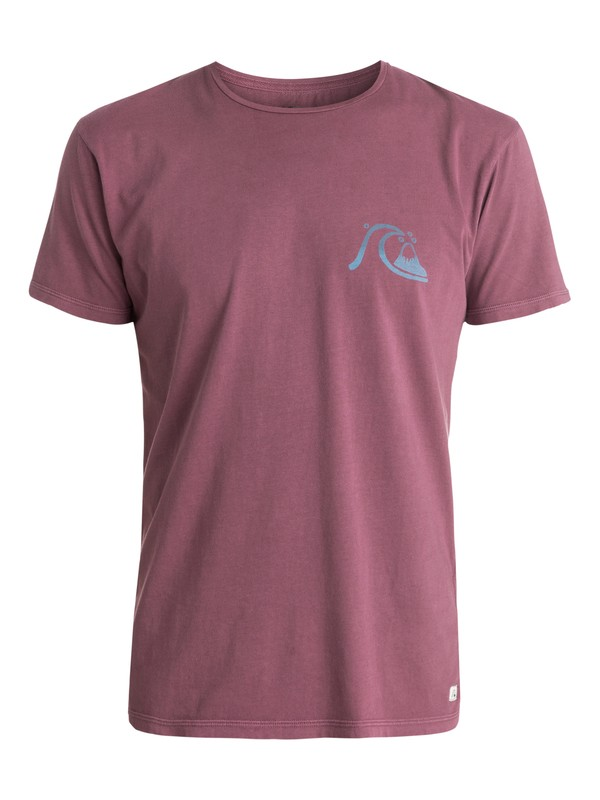 0 Garment Dyed Bubbly Frother - T-shirt  EQYZT03403 Quiksilver