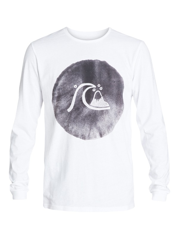 0 Garment Dyed Ink Bubble - T-shirt manches longues  EQYZT03409 Quiksilver