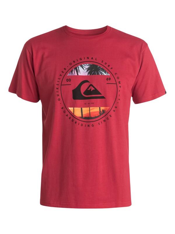 0 Classic Between The Lines - T-shirt  EQYZT03424 Quiksilver