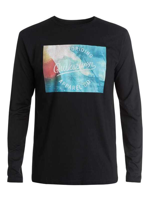 0 Classic Palm Wave - T-shirt manches longues  EQYZT03435 Quiksilver
