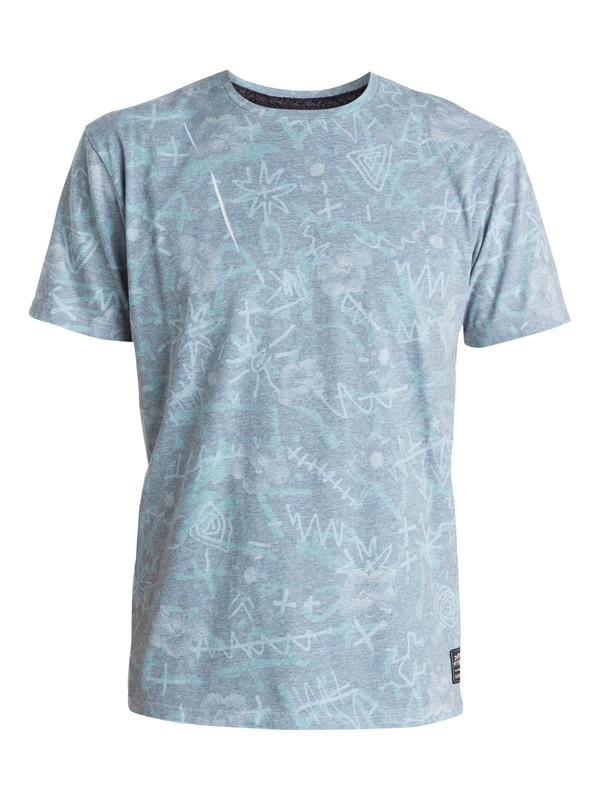 0 Washed Up Modern Fit Tee  EQYZT03444 Quiksilver