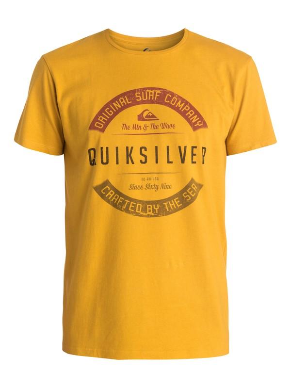 0 Organic Crafty - T-shirt  EQYZT03448 Quiksilver