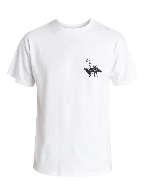 0 Julien David Snorkel Ghetto Dog T-Shirt  EQYZT03485 Quiksilver