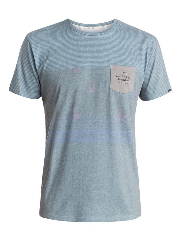 0 Sub Mix Up Premium Fit T-Shirt  EQYZT03507 Quiksilver
