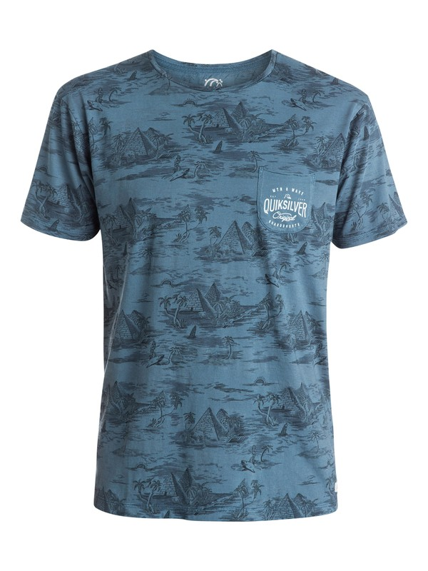 0 Nile Point Premium Fit T-Shirt  EQYZT03510 Quiksilver