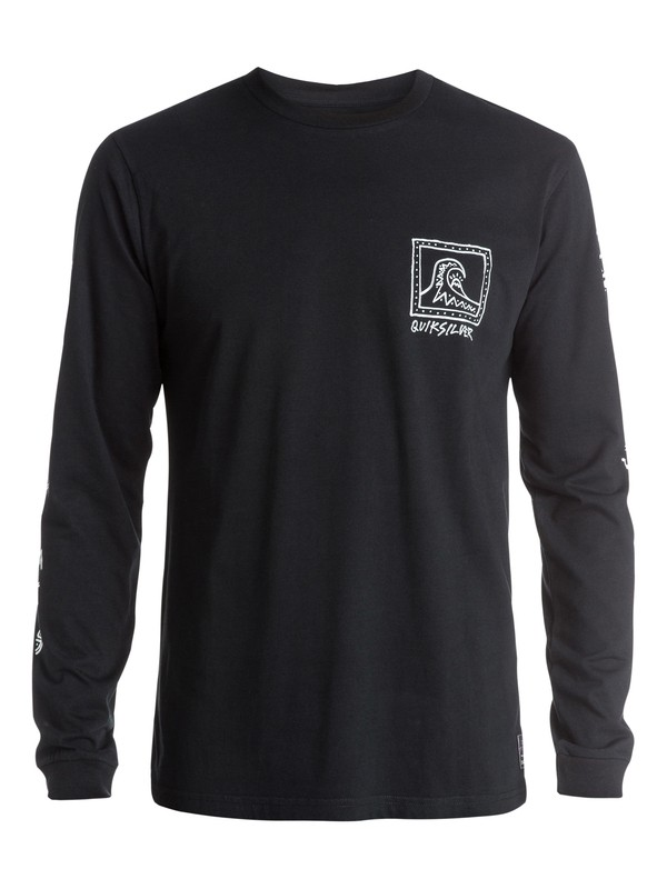 0 Snake Lord Long Sleeve T-Shirt  EQYZT03513 Quiksilver