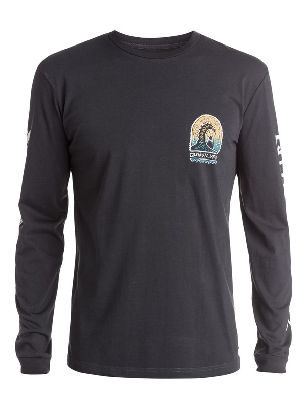 0 Shrine Long Sleeve T-Shirt  EQYZT03519 Quiksilver