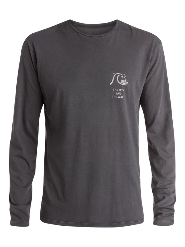 0 Sunset Blast Long Sleeve T-Shirt  EQYZT03526 Quiksilver