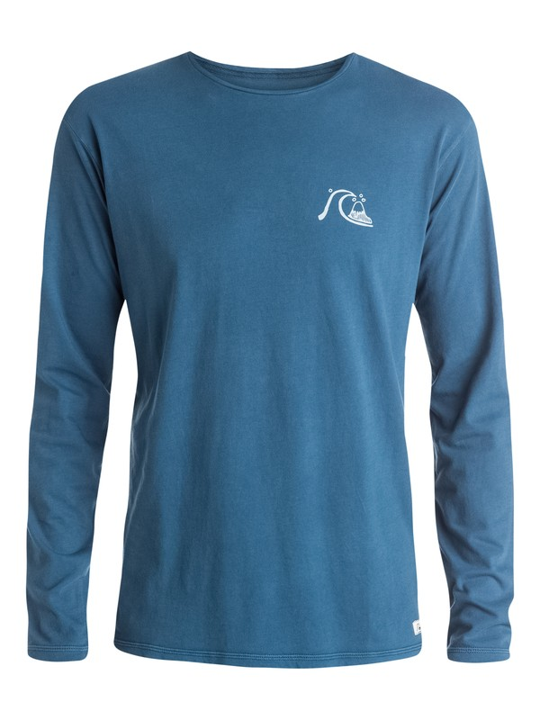 0 Bubble Logo Long Sleeve T-Shirt  EQYZT03527 Quiksilver