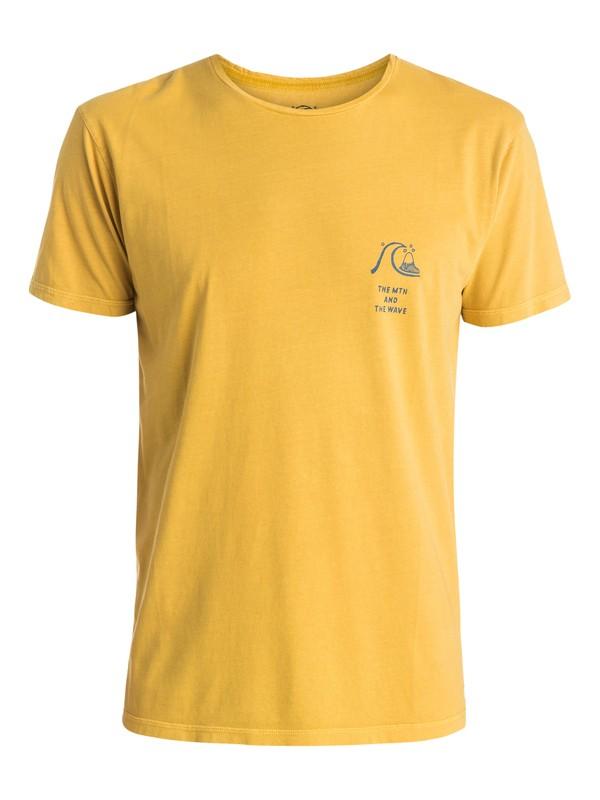 0 Bridge Brand Premium Fit T-Shirt  EQYZT03529 Quiksilver