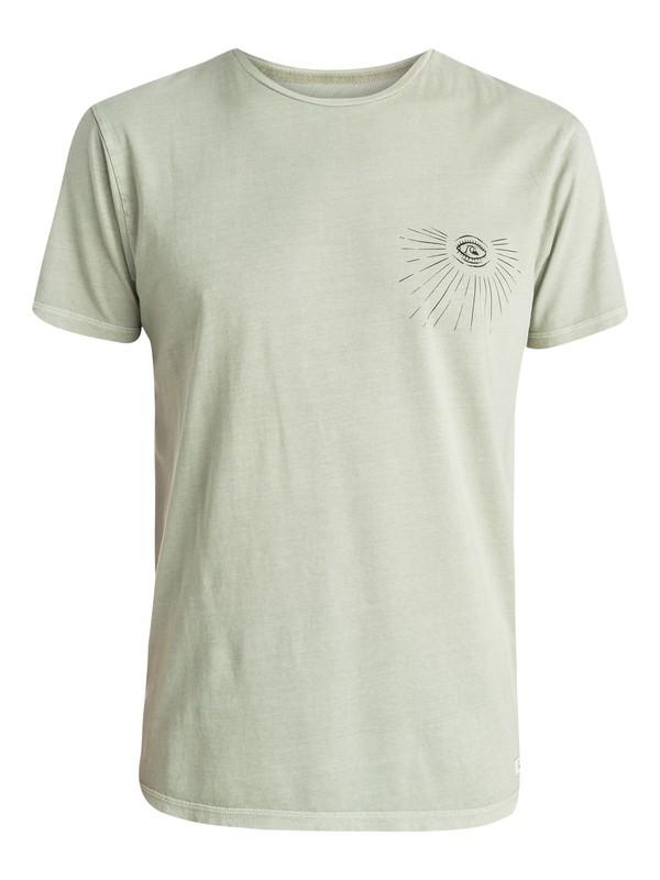 0 Dead Flat Premium Fit T-Shirt  EQYZT03535 Quiksilver