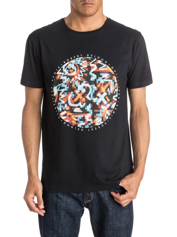 0 Cave Rave Remix Modern Fit  T-Shirt  EQYZT03555 Quiksilver