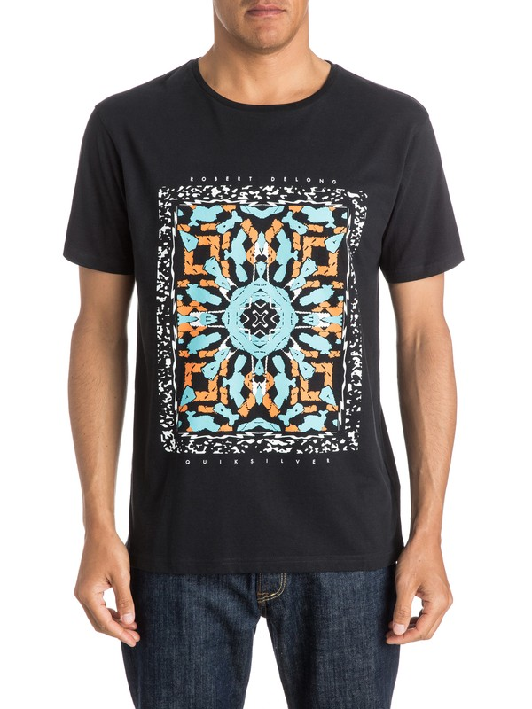 0 Short Circuit Remix  Modern Fit T-Shirt  EQYZT03556 Quiksilver