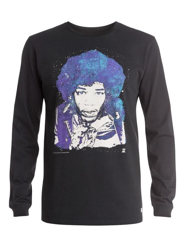 0 Hendrix  Long Sleeve T-Shirt  EQYZT03571 Quiksilver