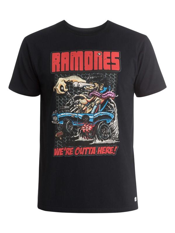 0 Ramones - Camiseta  EQYZT03574 Quiksilver