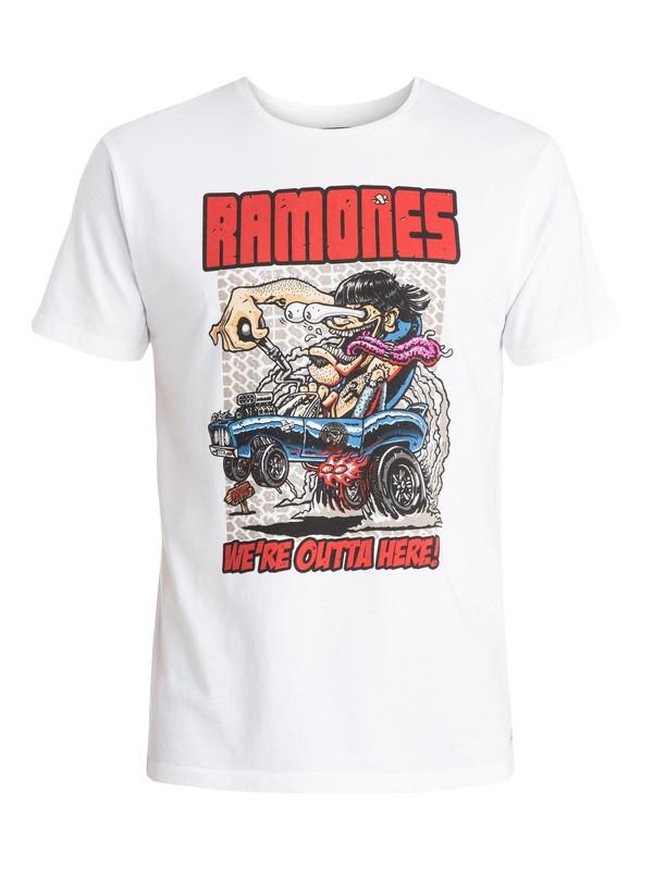 0 Ramones - T-shirt  EQYZT03574 Quiksilver