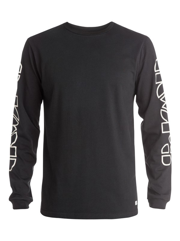 0 The Doors Logo Long Sleeve T-Shirt  EQYZT03576 Quiksilver