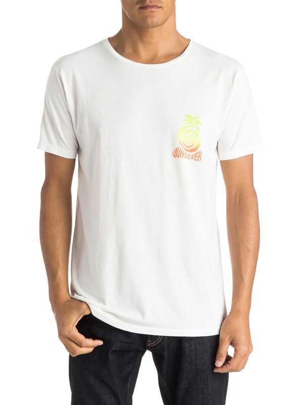 0 Garment Dyed Good Vibrations Premium Fit Tee  EQYZT03607 Quiksilver