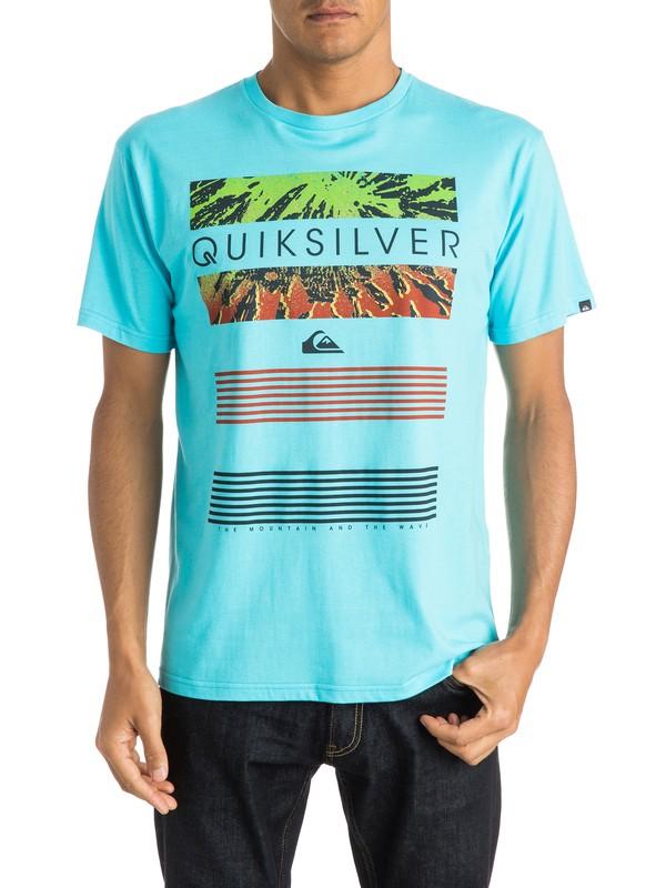 0 Classic Line Up - T-shirt  EQYZT03623 Quiksilver