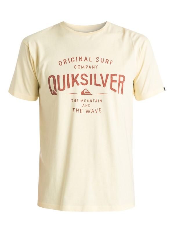 2 Classic Claim It - Camiseta Amarillo EQYZT03640 Quiksilver