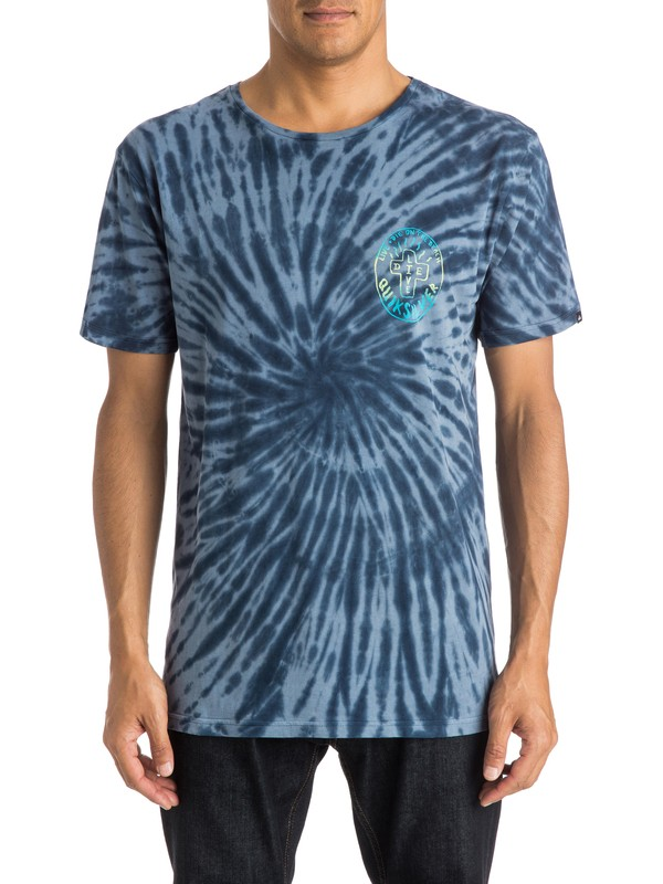 0 Live And Dye - T-shirt  EQYZT03647 Quiksilver