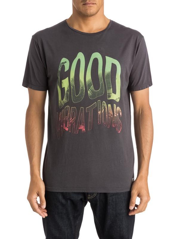 0 Garment Dyed Good Vibrations - T-shirt  EQYZT03656 Quiksilver