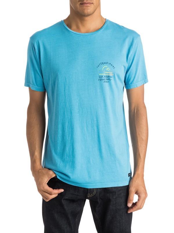0 World Force - T-shirt  EQYZT03660 Quiksilver
