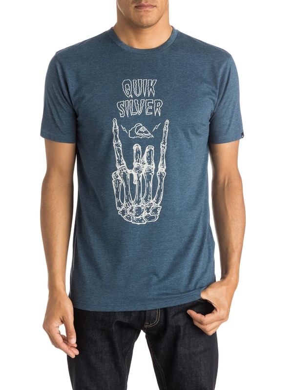 0 Heather Gravestone - T-shirt  EQYZT03662 Quiksilver