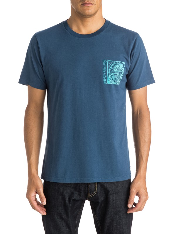 0 White Light Tee  EQYZT03669 Quiksilver