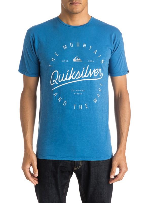 0 Slub Scriptville - T-shirt  EQYZT03686 Quiksilver