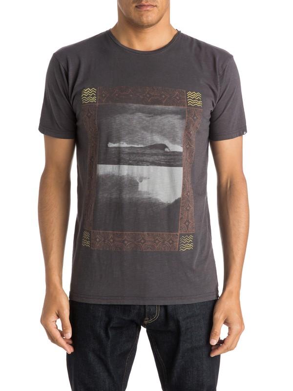 0 Slub Split Screen - T-shirt  EQYZT03687 Quiksilver