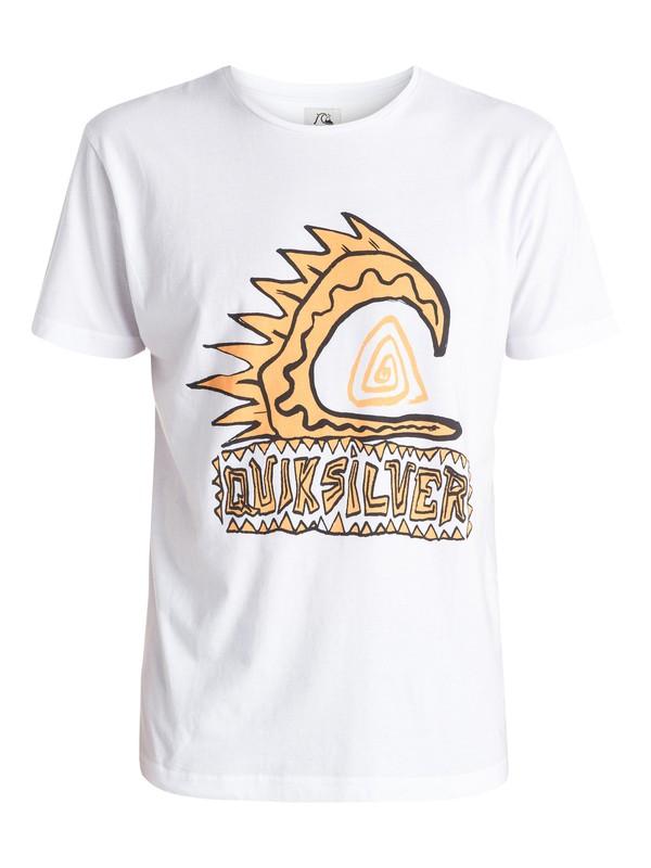 0 Razorback Front Logo - T-shirt  EQYZT03732 Quiksilver