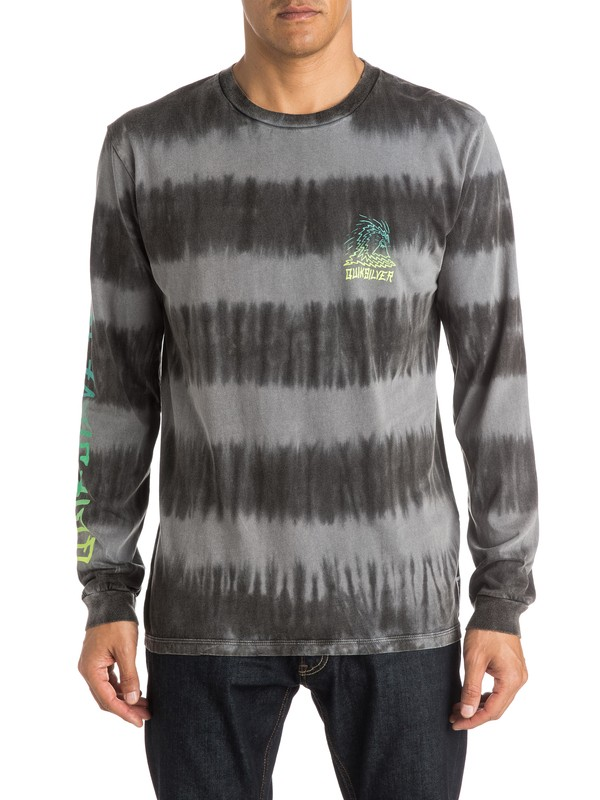 0 Fade Out - T-shirt manches longues  EQYZT03770 Quiksilver