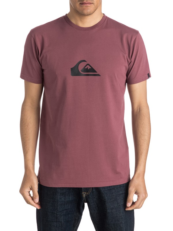 0 Classic Everyday Mountain & Wave - Tee-Shirt  EQYZT03813 Quiksilver
