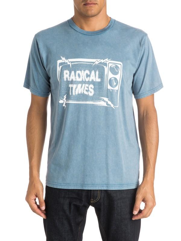 0 The News T-Shirt  EQYZT03815 Quiksilver