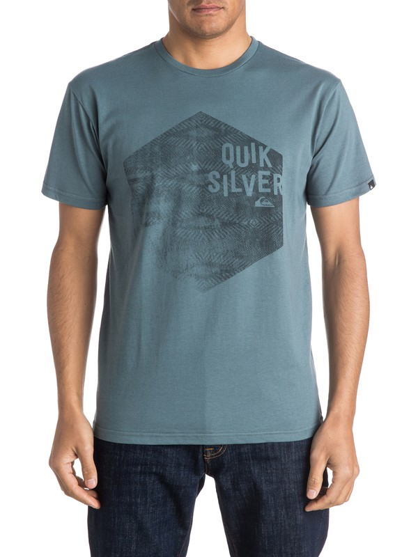 0 Classic Jumbled Hex - Tee-Shirt  EQYZT03915 Quiksilver